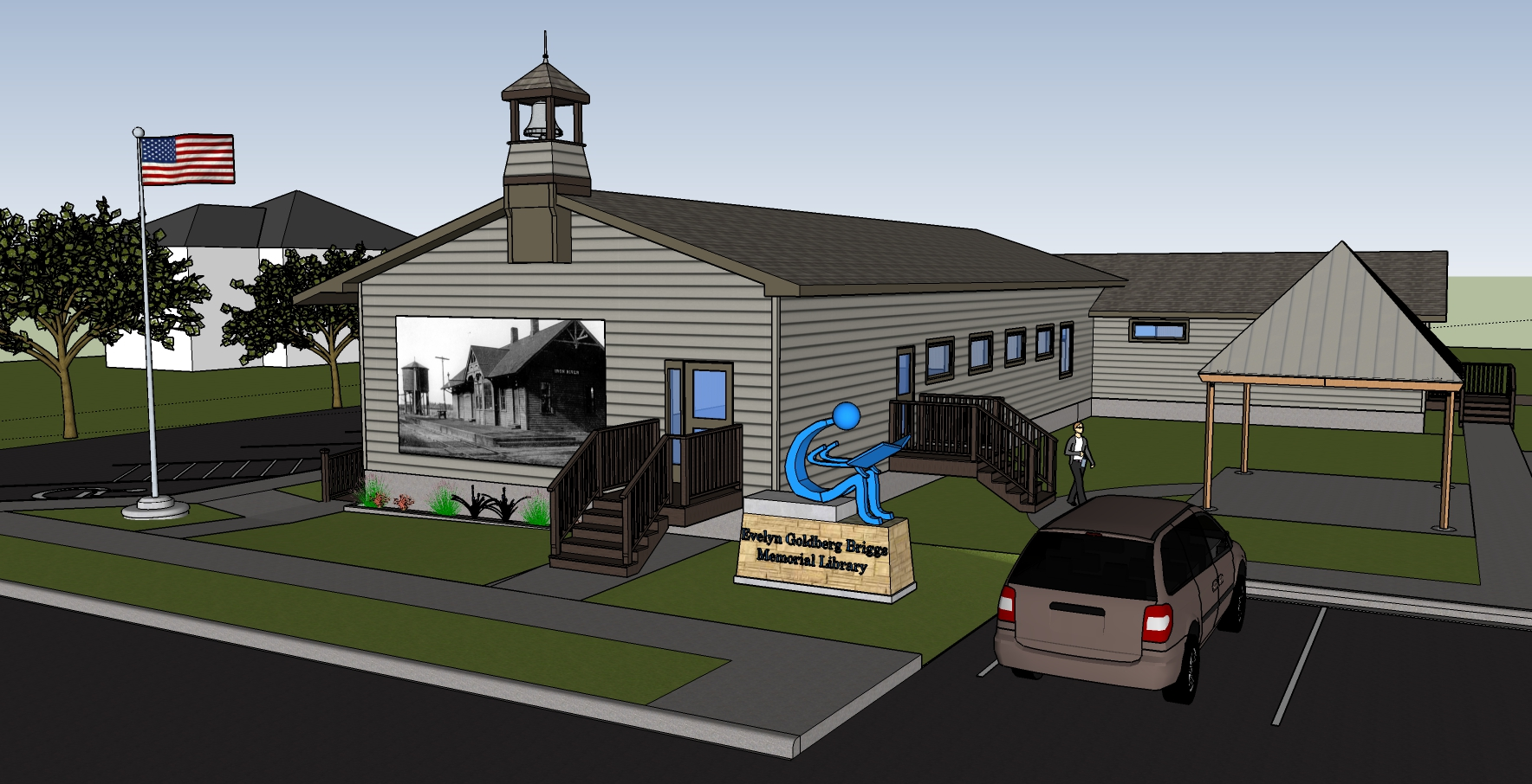 Iron River Library Expansion drawing side.jpg
