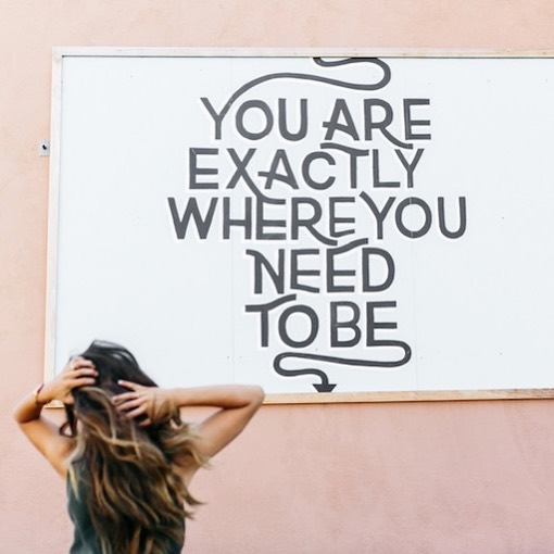 Exactly.  But where you're going is not where you've been.  It's time to evolve from a life of surviving the grind ➡️ to boldly claiming your purpose.  It's time to clarify what you really want in life, Build your confidence/belief in yourself and  Finally having a career you love.  You were made to create, to love, to share and to live with joy!  If you're not feeling those things in your current job, join us in The Soul Career and let's make it happen!  ENROLLMENT CLOSES TONIGHT! 5 SPOTS LEFT 💃🏽