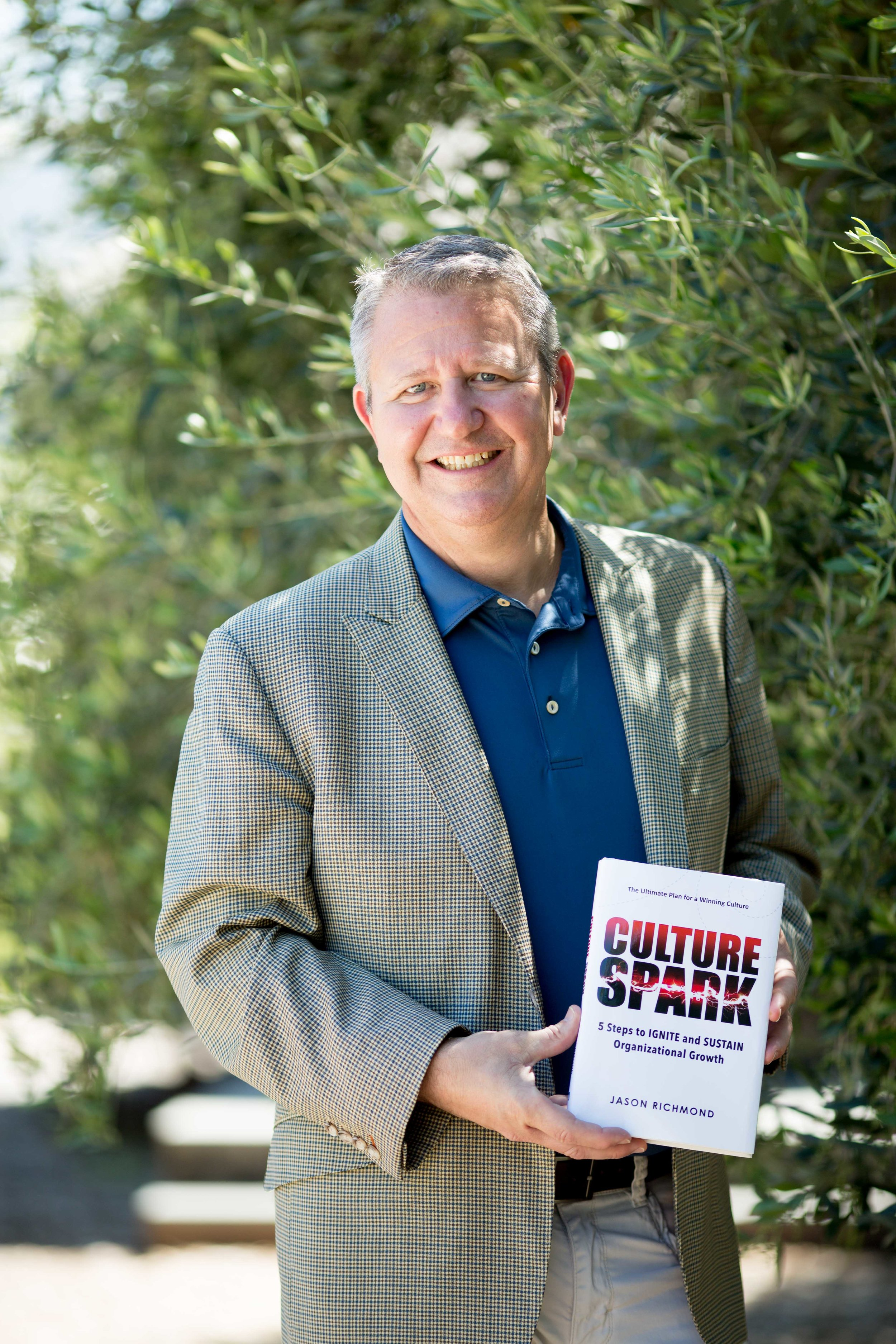 Jason Richmond, Author of Culture Spark: 5 Steps to Ignite and Sustain Organizational Growth