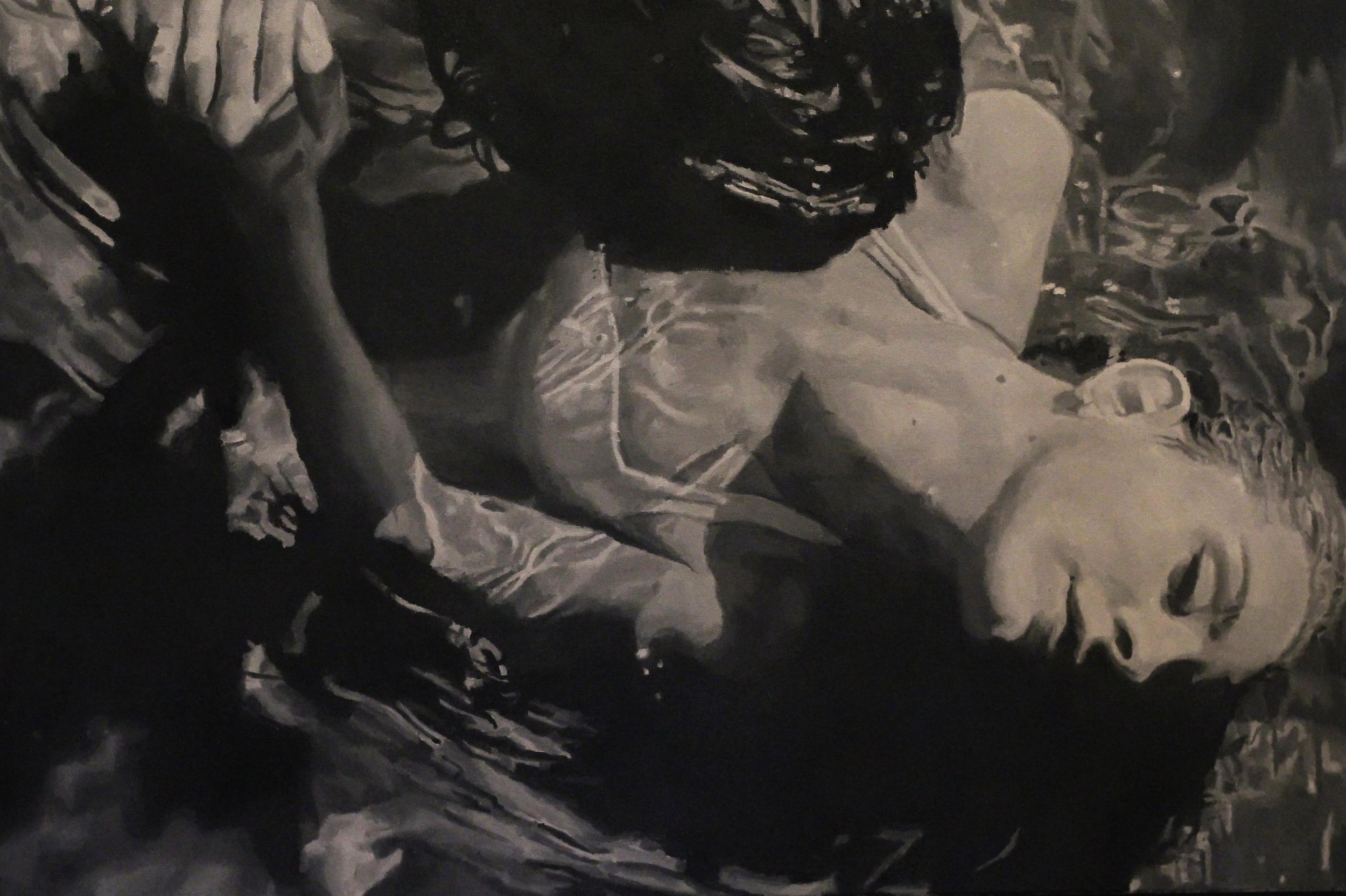 Daydreamer, oil painting  by Jason Nunn (Suffolk, UK)