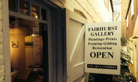 The Fairhurst gallery in Norwich are very accommodating to new collectors.