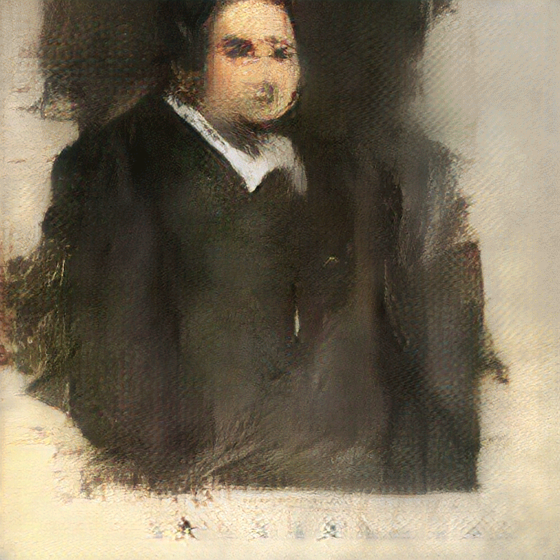 Edmond de Belamy  sold for $432,500 at auction