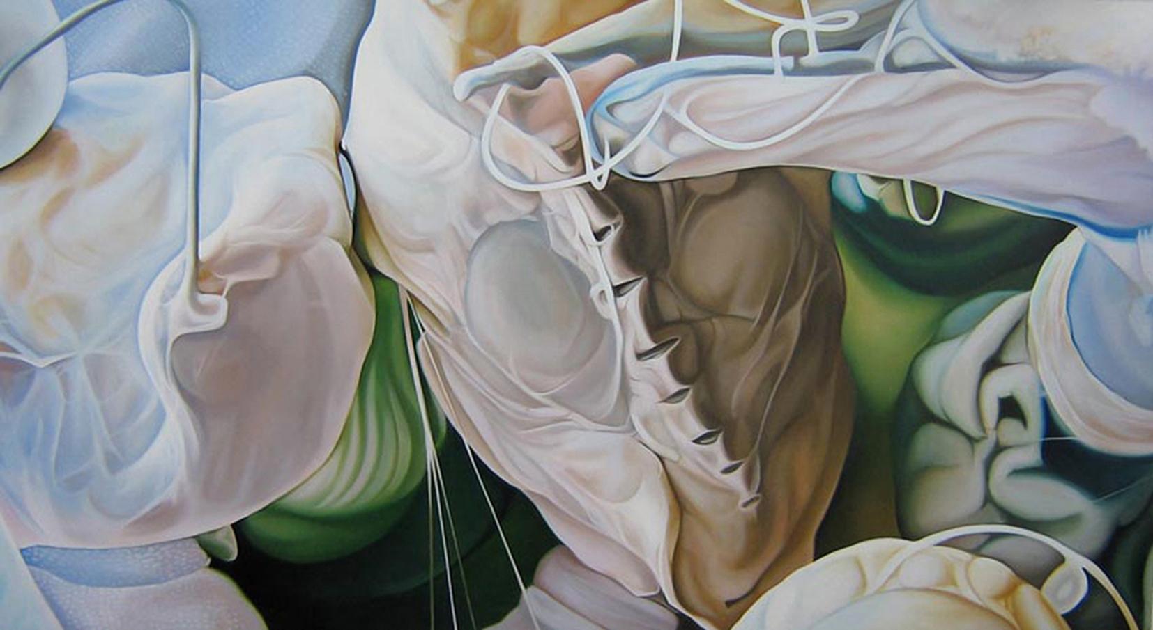 Primavera,  oil painting by Monica Metsers (Lake District, UK)