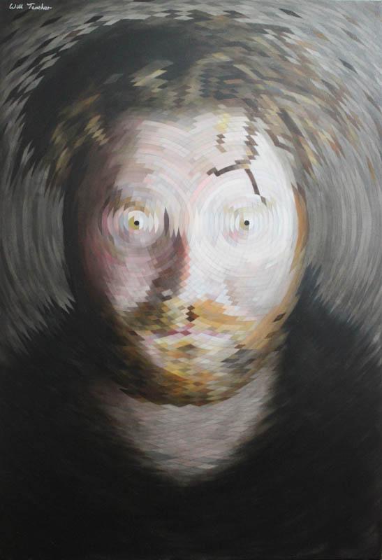 Radial Portrait  - Oil on canvas - 100 x 150cm - £5000