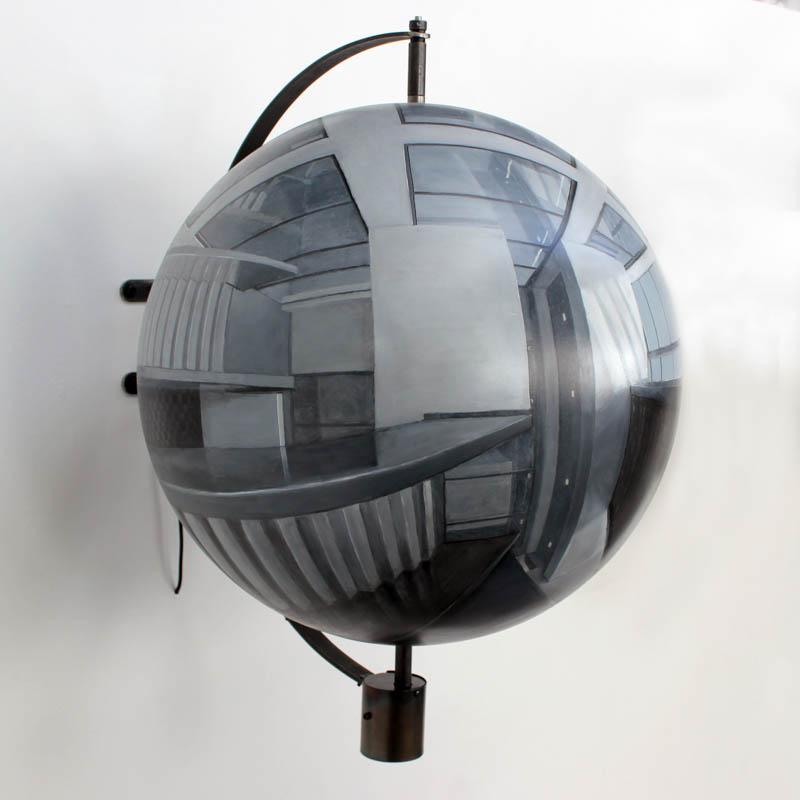 Guntons - Acrylic on sphere