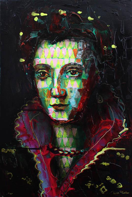Camilla Martelli (after studio of Alessandro Allori)  - Oil on canvas - 51 x 76cm - £875