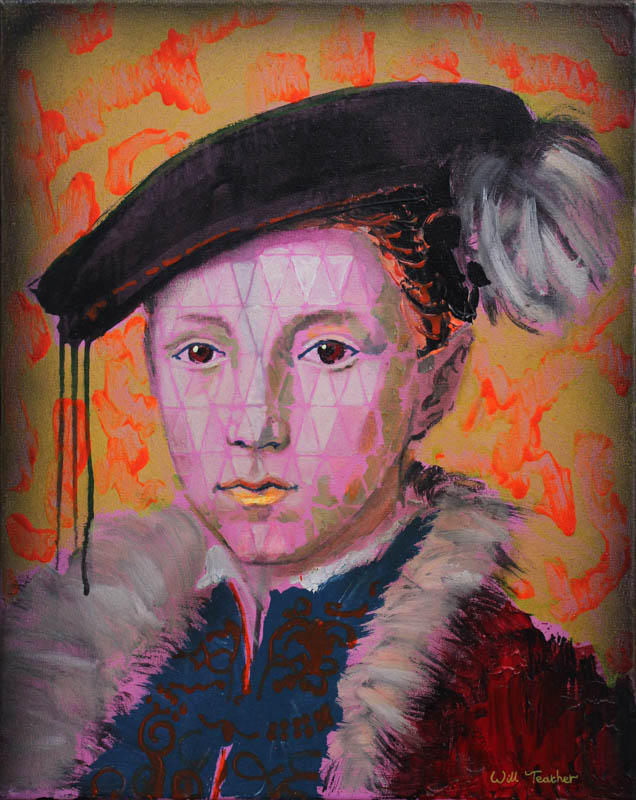 Edward VI of England (after Flemish School)  - Oil on canvas - 40.5 x 51cm - £575