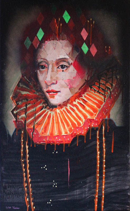 Elizabeth 1st (after Gheeraerts)  - Oil on canvas - 60 x 97cm - £2500