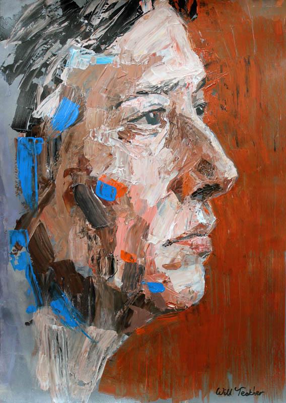 Life painting  - 70 x 50cm - £750
