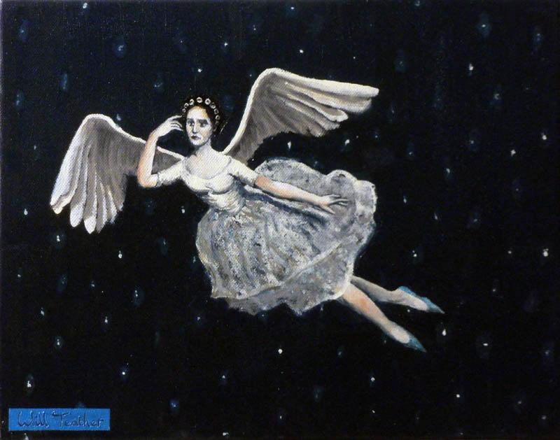 Columba  - Oil on canvas - 26 x 35cm - £1750
