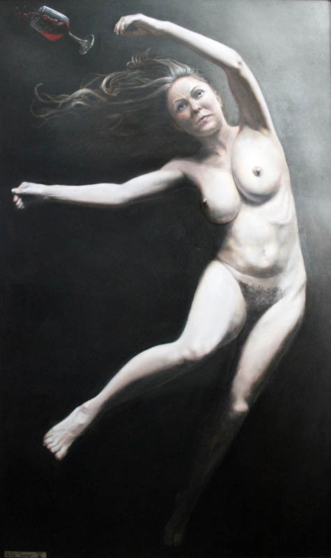 Transmigrations  - Oil on panel - 102 x 60cm - £4000