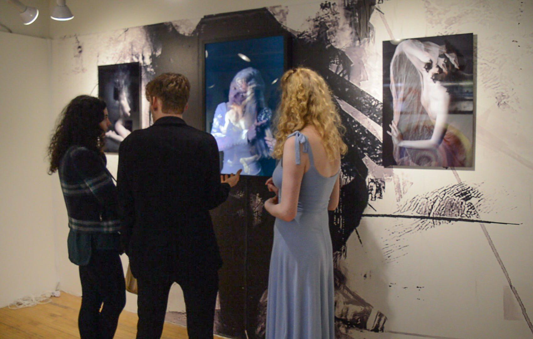 Visitors were captivated by Siris' original artistic practice and inspiring backstory