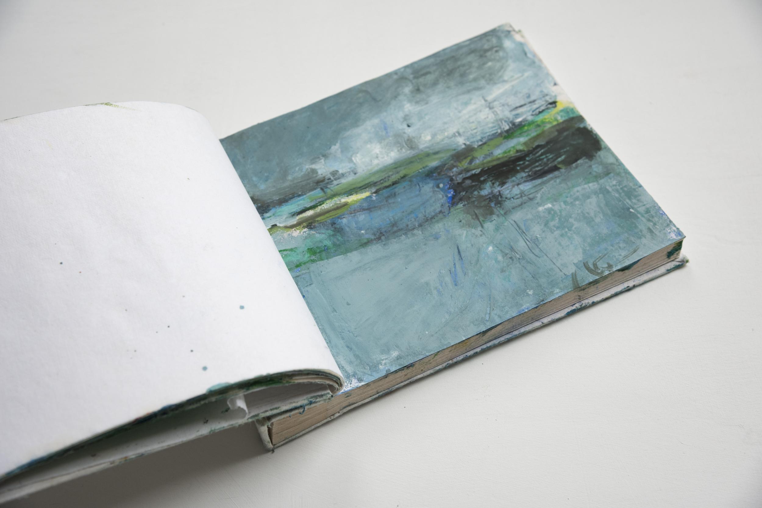 Tracking Turner Sketchbook