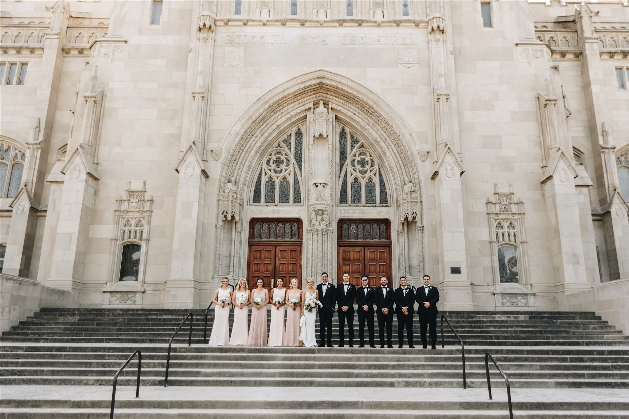 Scottish Rite Cathedral wedding