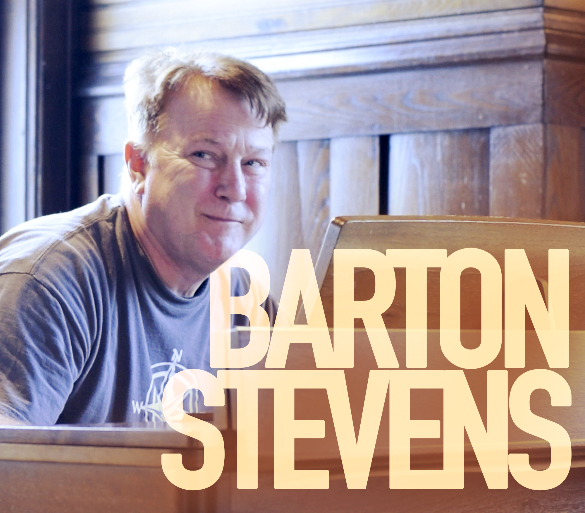 """Sound Engineer, tour manager, trailer pack specialist, and one liner king  Barton AKA """"Bartok"""" Stevens  is the unsung hero in the group. Bartok (Father of Shane and Raice) makes sure that our sound is consistent, powerful, and easy on the ears for all listeners. Barton, originally from Grayson KY, toured the world for many years playing piano with Billy Ray Cyrus. His vast musical knowledge and experience on the road designates him as our rehearsal/tour manager. When something sounds rough, Barton will be the first to call it like he hears it."""