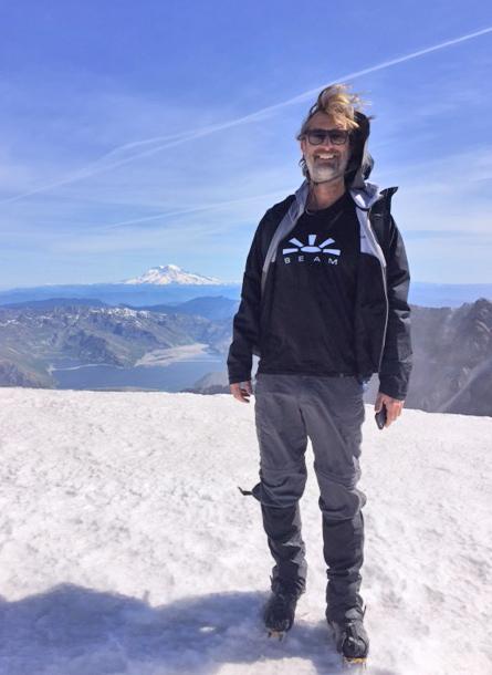 Jamie Jackson - CaliforniaPhoto taken at the summit of Mount St. Helens, Skamania County, Washington