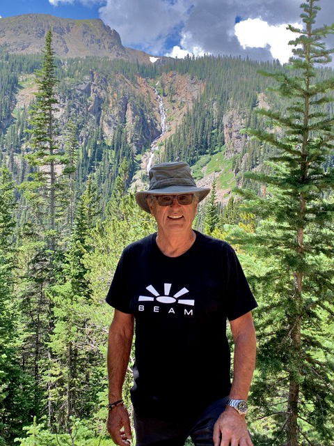 Guy Mayenobe - CaliforniaBeaming from 9,000 feet while hiking the July 4th Trail outside of Eldora, Colorado.