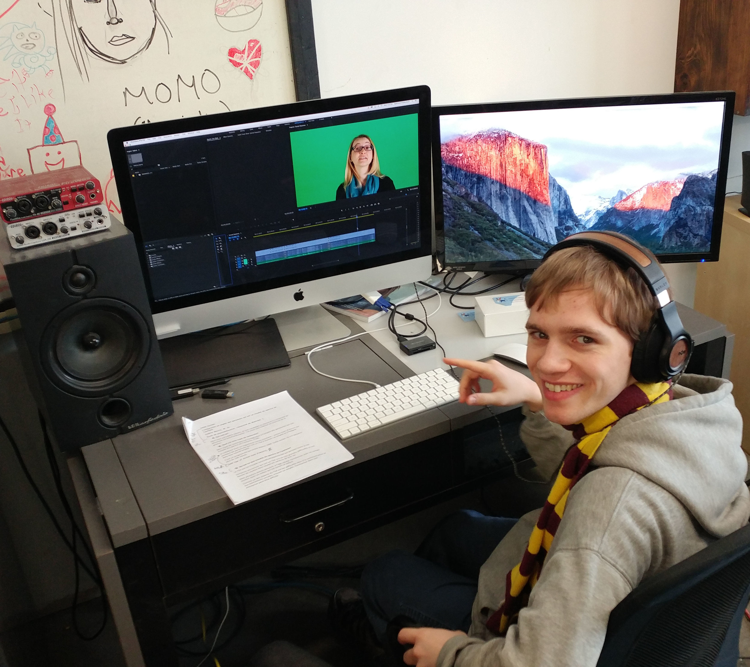 Christopher Dymond, Creative Media Lab