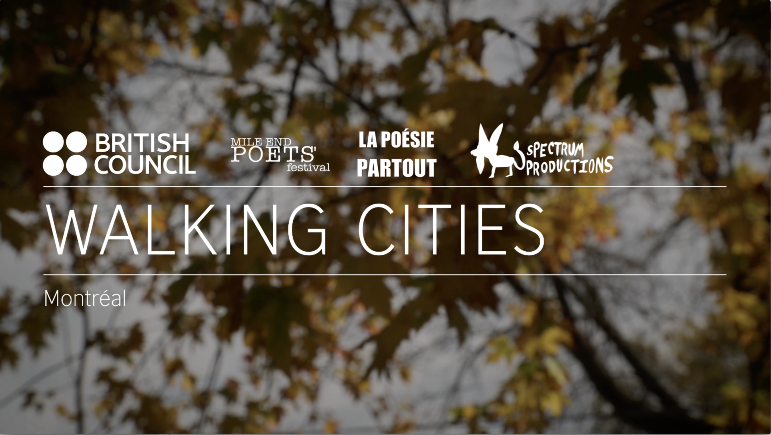 Walking Cities - British Council