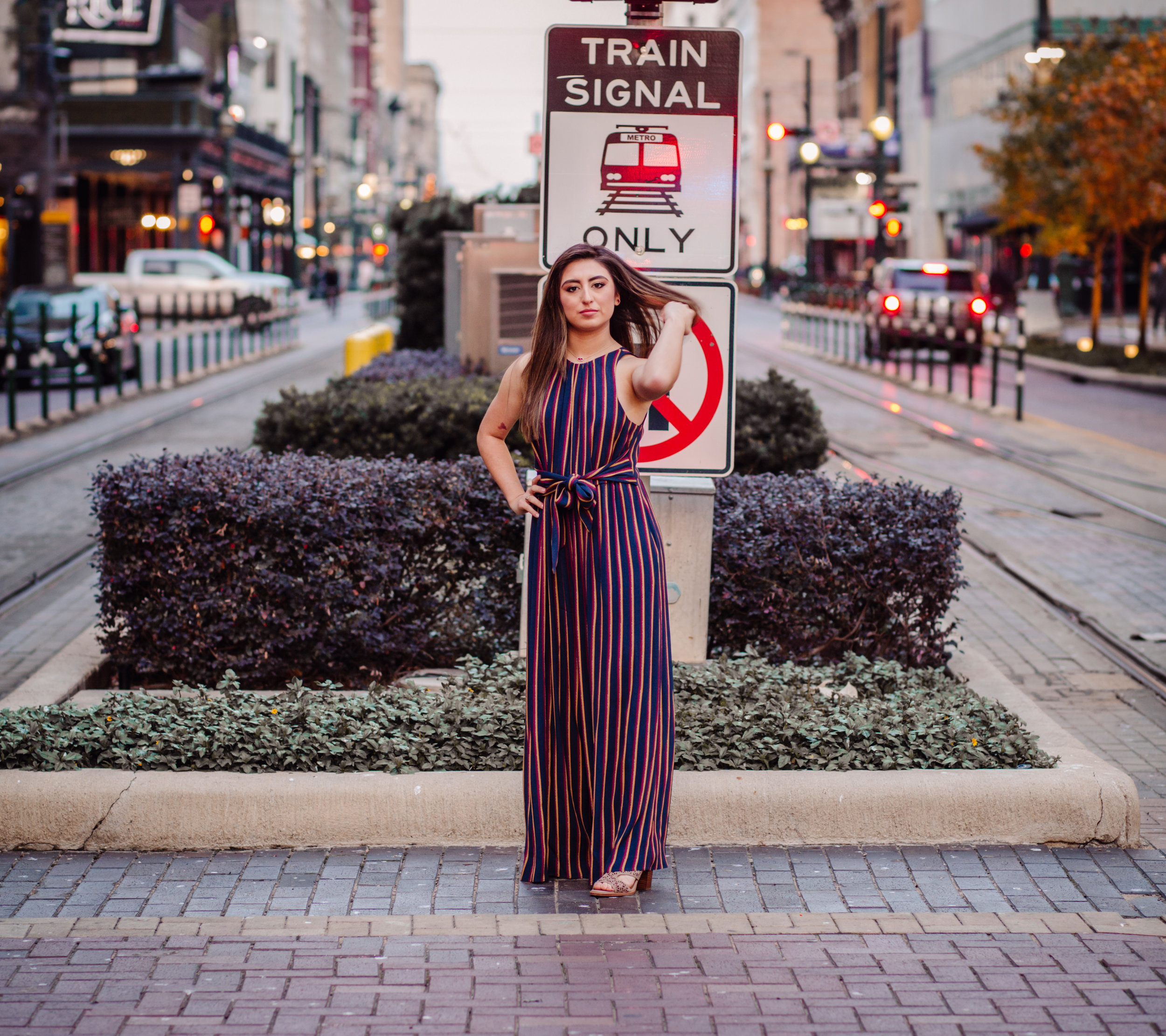 Senior Sessions in Downtown Houston