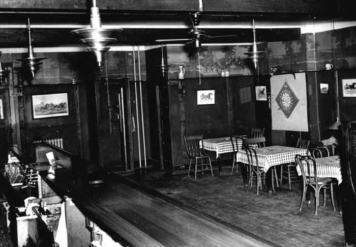 Sperry's Restaurant – historic photo from the late 1960's or early 1970's