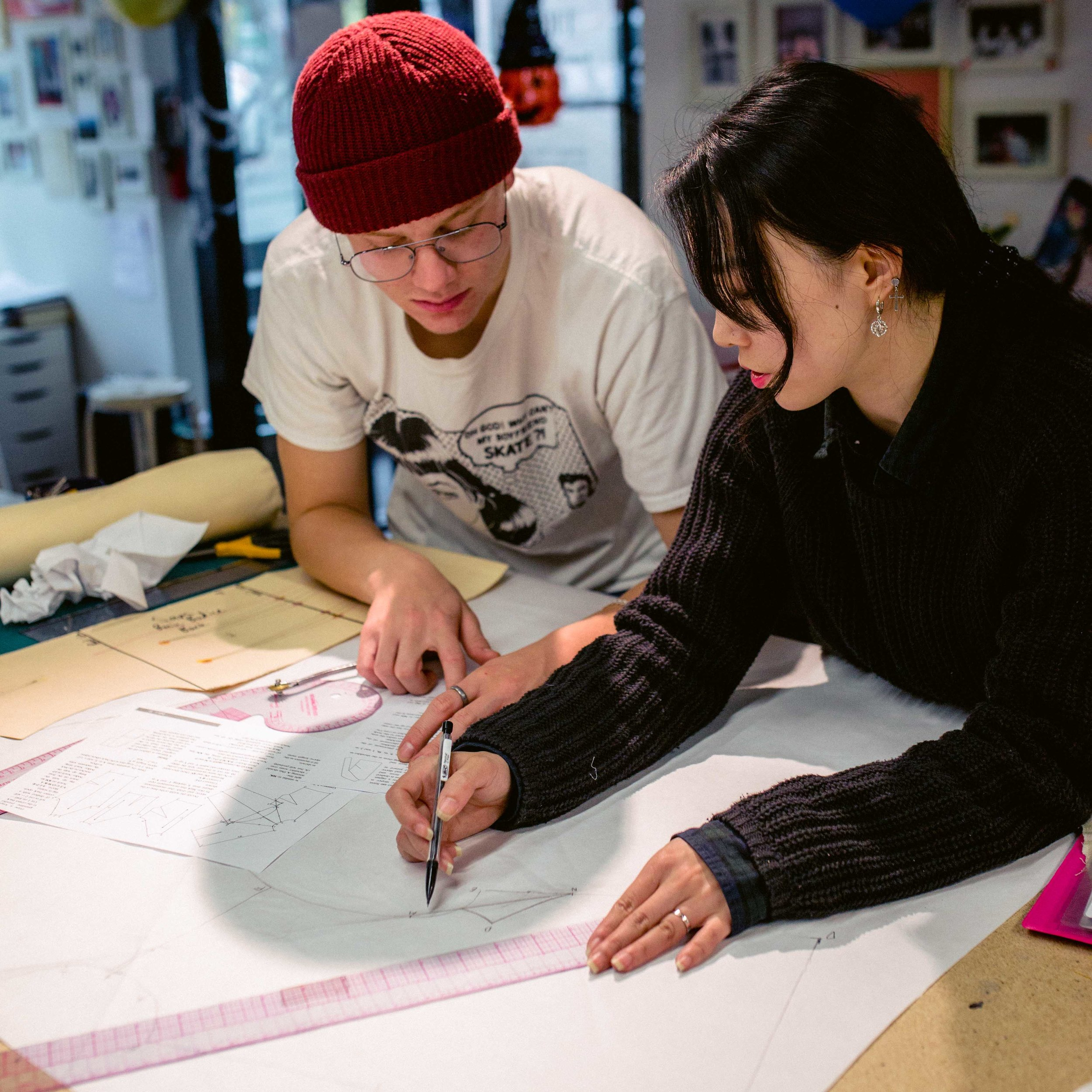 beginner-pattern-making-level2-classes-vancouver-canada-thecutfashionacademy
