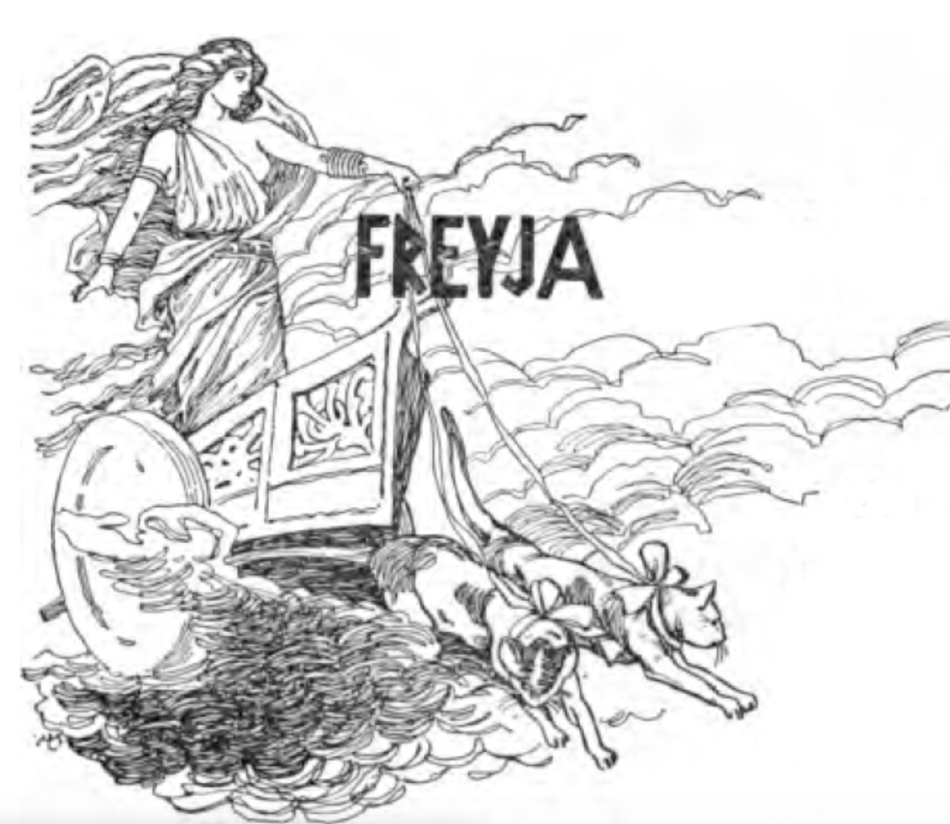 Freyja, The Bold!