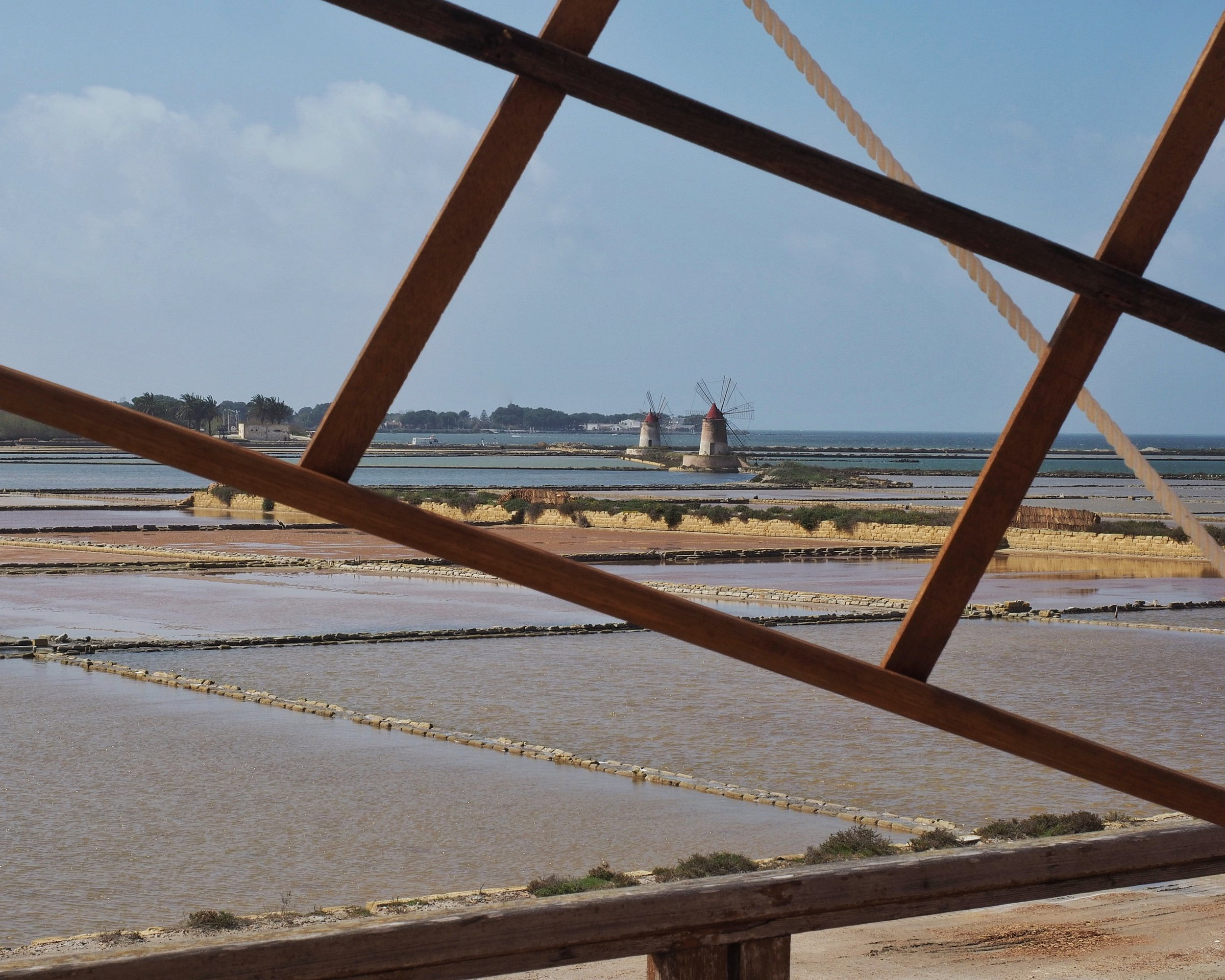 Travel: The saltpans of Mazara del Vallo. Click for a larger picture.