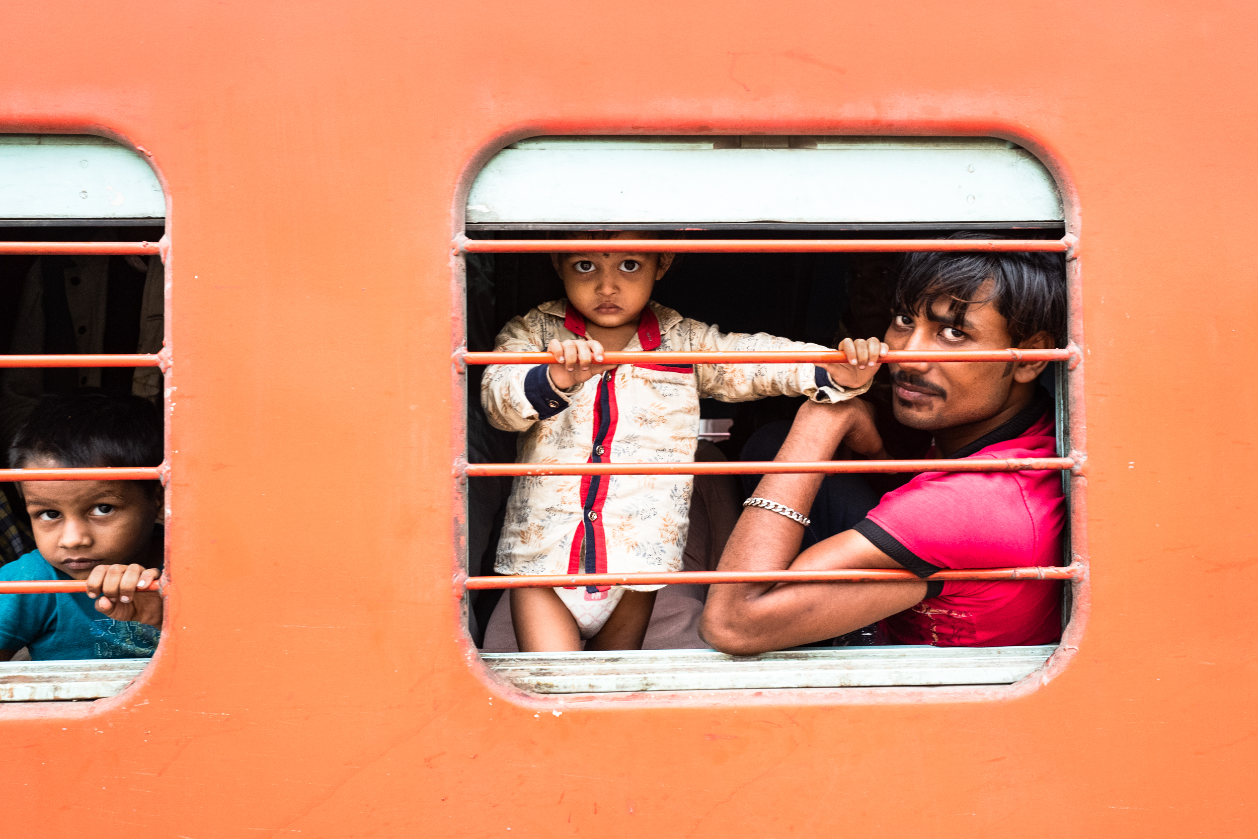 Varanasi Train Station 2019. Photo by Susan Schiffer. Used with permission.Click for a larger picture.