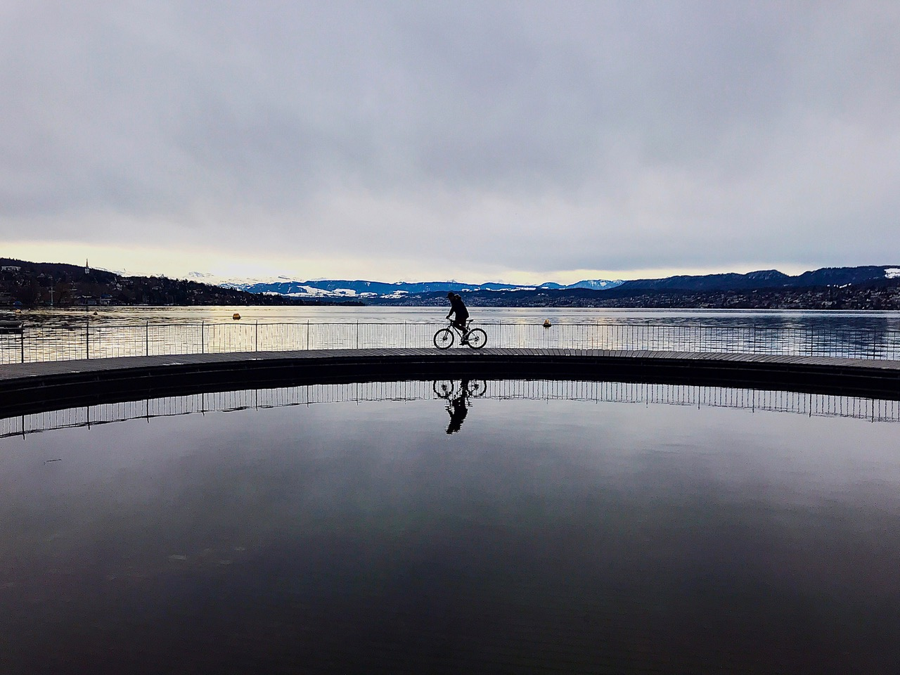 Take A Ride on the Calm Side. Photo by Monica Posnett. Used with permission. Click for a larger image.
