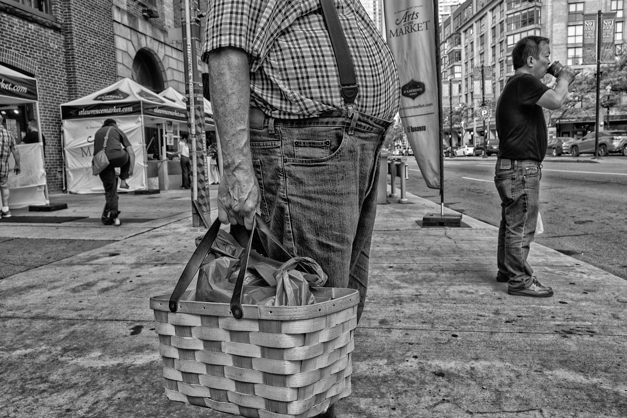 Photo by Shar H. Used with permission. You can see Shar's b&w gallery on Instagram at @findinginterestingpeople, her new color street photography account at @colormystreet, and her first gallery of pictures taken mostly with an iPhone at @Phillylady2.