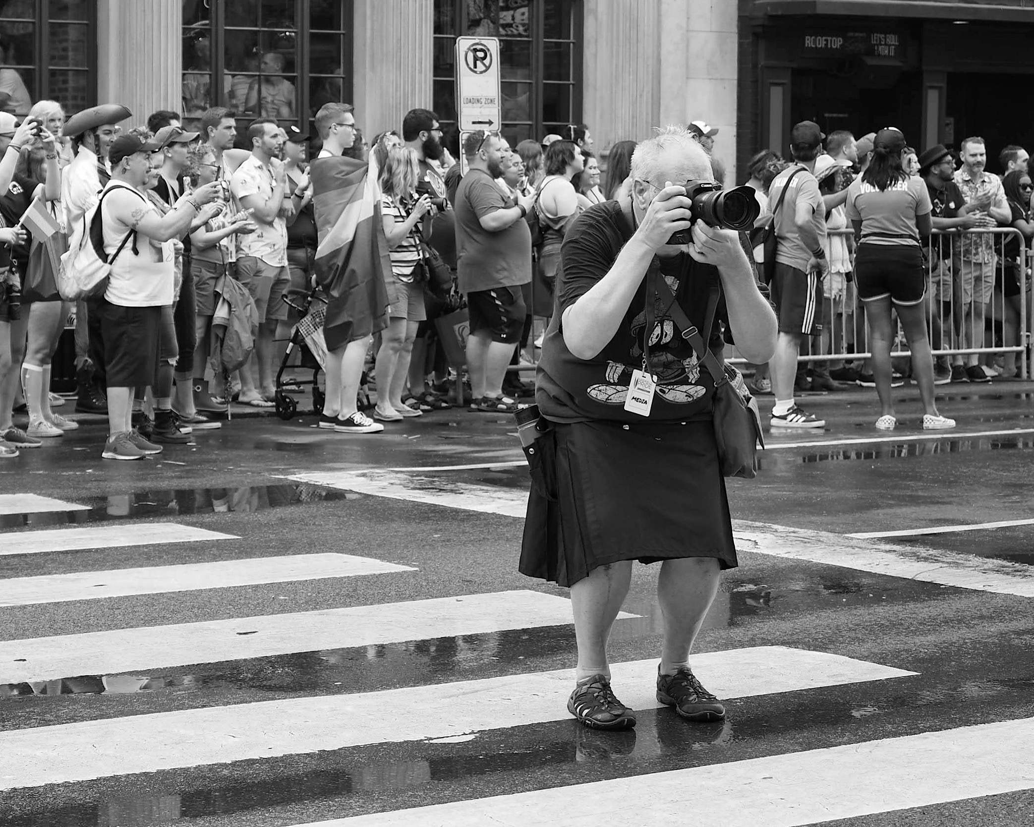 "Keep on Shooting. From the Collection, ""Photographers""."
