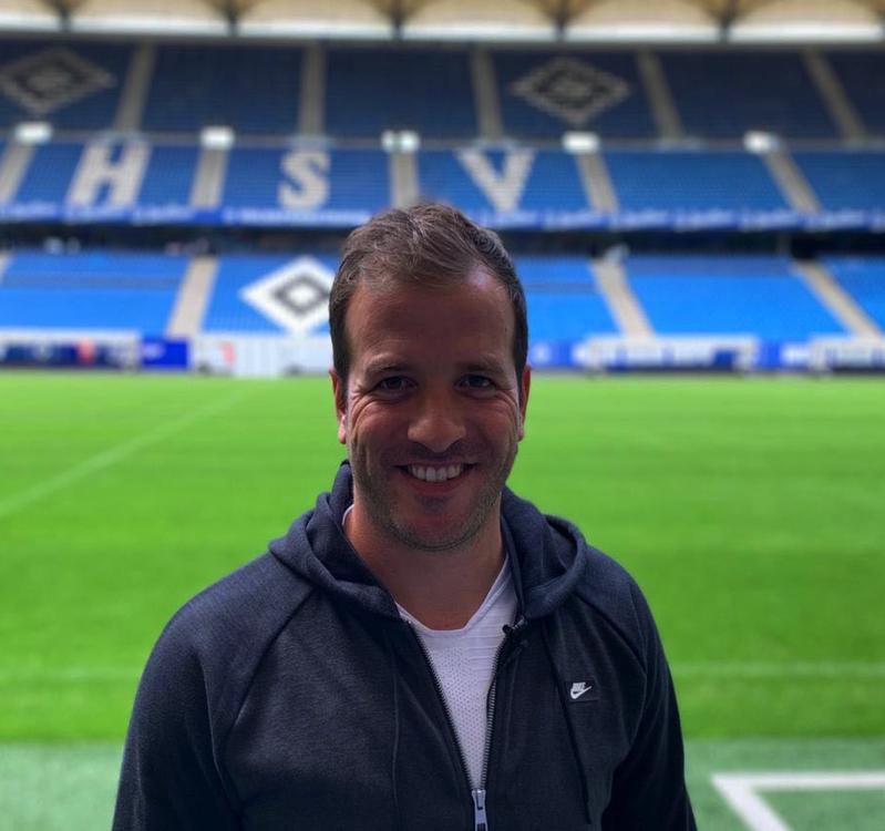 Rafael van der Vaart HSV Hamburg september 2019