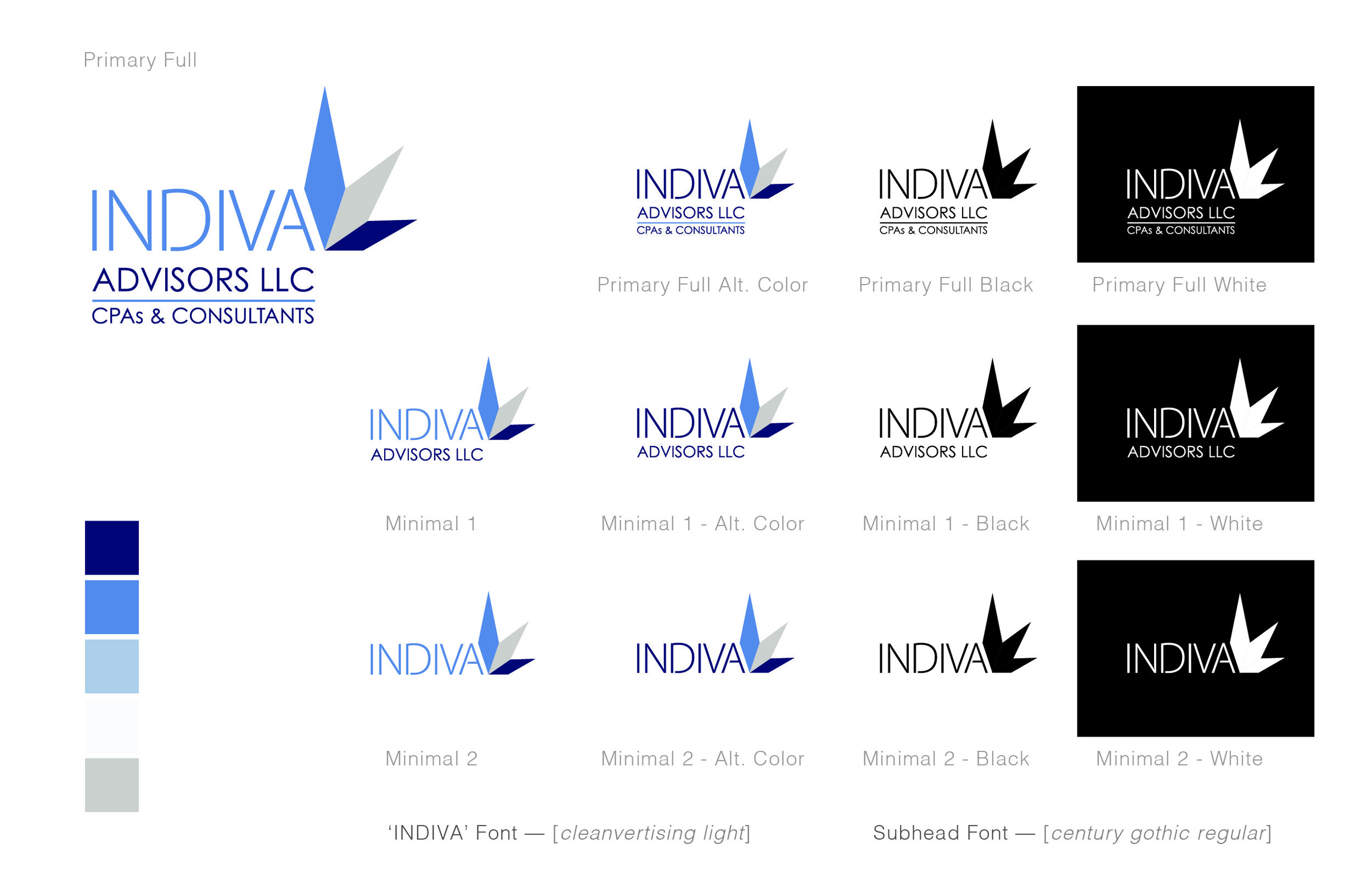 Identity Study - INDIVA: Cannabis Industry Accounting & Financial Services