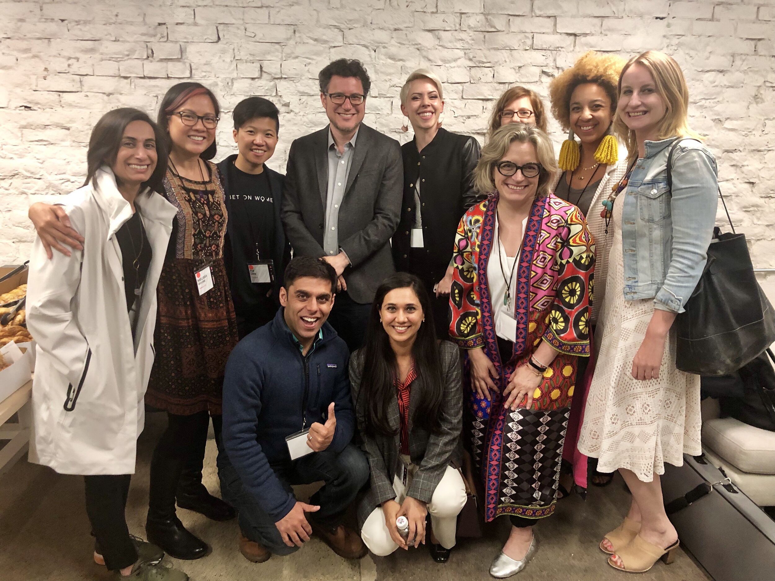 The pilot cohort of Seneca Advance gathered at  Founders + Funders SF 2019 .