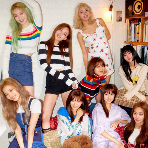 Twice Group Energy Analysis — Blue Moon Punch
