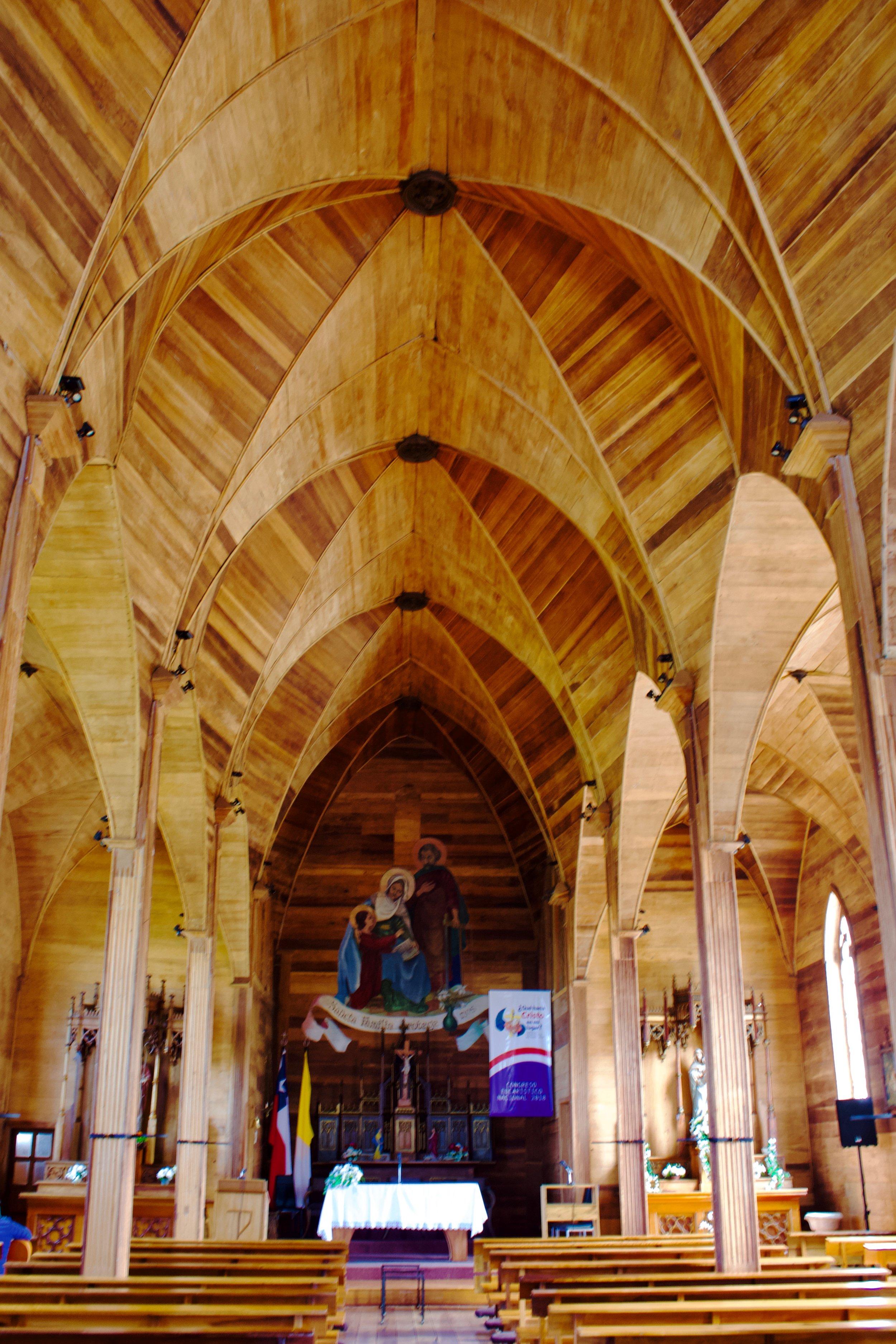 San Augustin church Puerto Octay