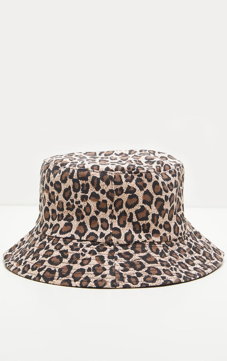 Pretty Little Thing -  Leopard Print Bucket Hat