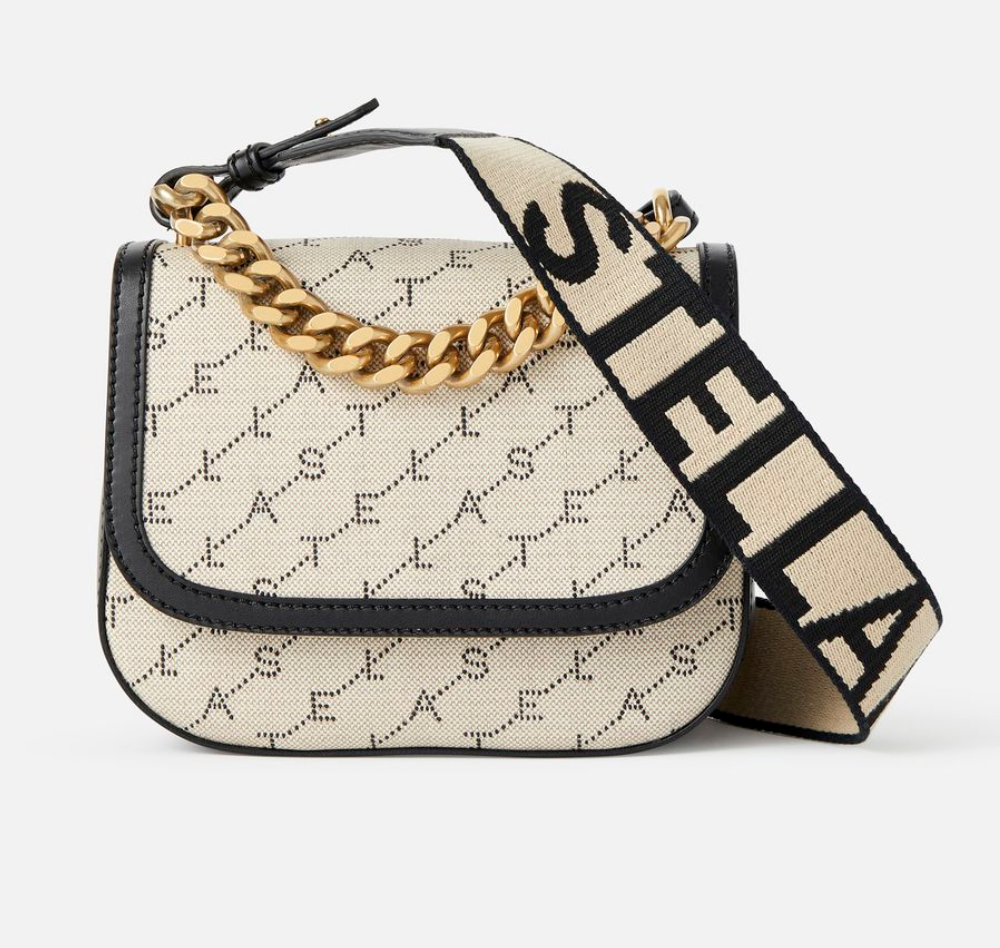 "Stella McCartney  -  Monogram Shoulder Bag  NZD $1598.12   This bag is currently on my ""wish"" list!"