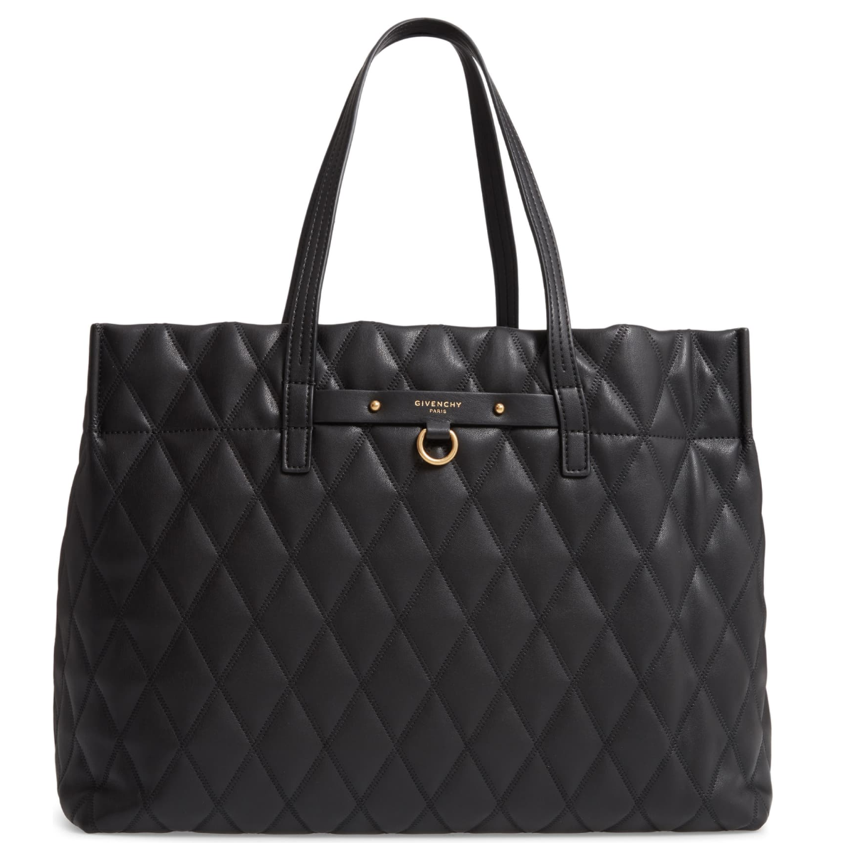 Givenchy  -  Quilted East/West Faux Leather Shopper  NZD $1641.19