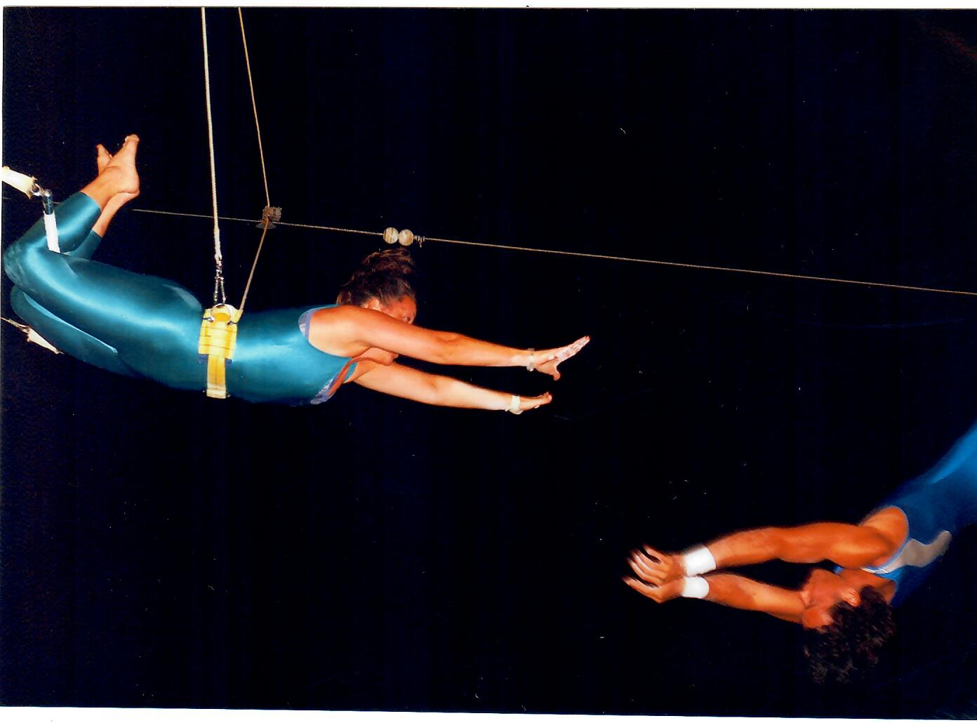FUN FACT - Brenda has performed in multiple trapeze shows.