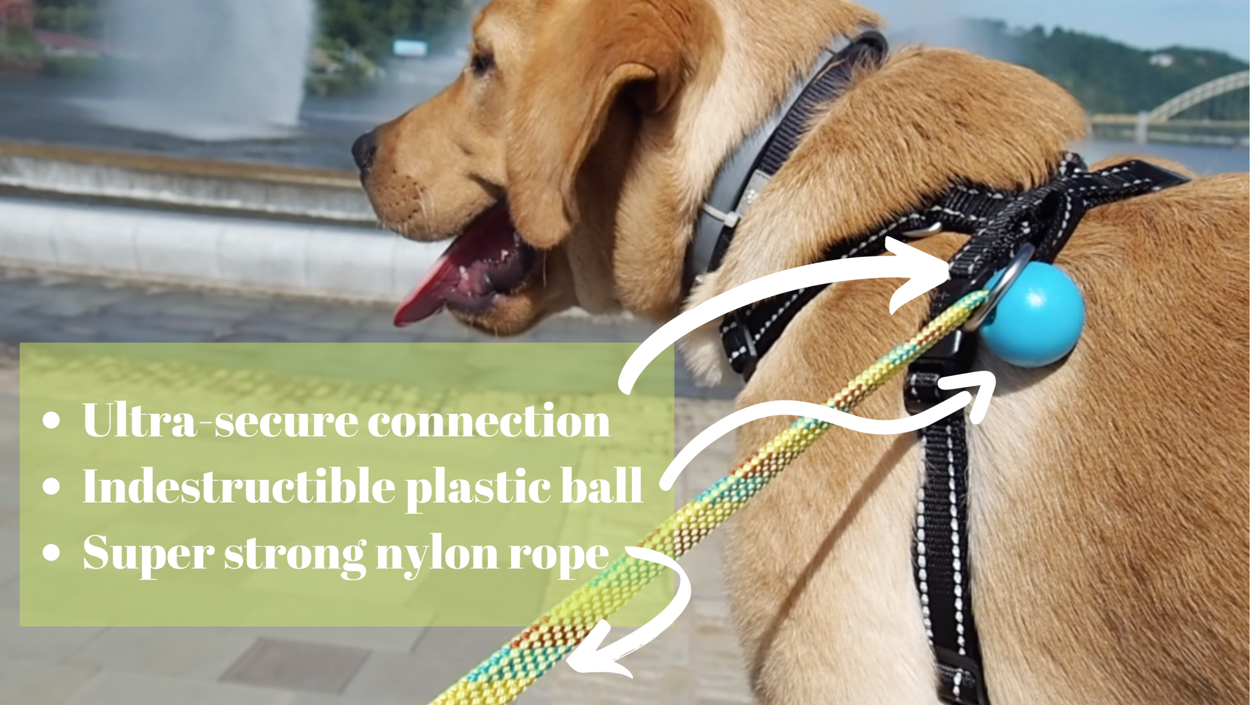 Ultra-secure connection. Indestructible plastic Ball Super strong nylon rope.png