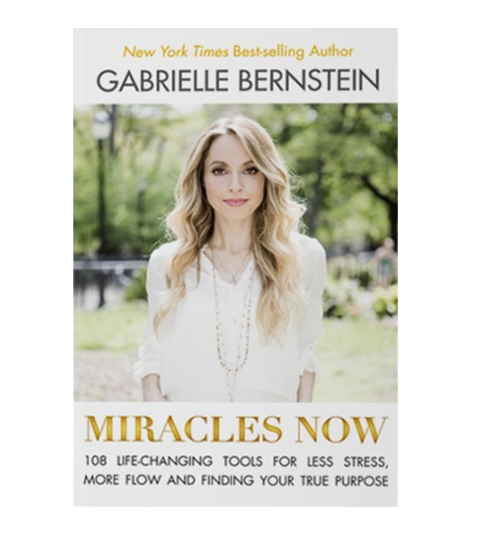 MIRACLES NOW- GABBY BERNSTEIN - Let's be real for a sec. Most of us don't have time for an hour of yoga or 30 minutes of meditation every day. We're overwhelmed as it is. Our spiritual practice shouldn't add to that. That's why I've handpicked 108 simple techniques to combat our most common problems—stress, burnout, frustration, jealousy, resentment. The stuff we have to deal with on a daily basis. This book is designed so that you can achieve peace and experience miracles now.$12.64 Paperback | $5.62 Kindle