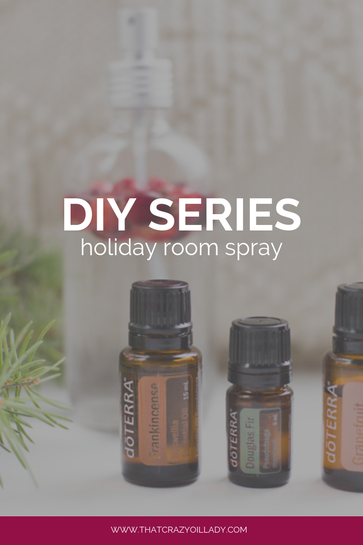 DIY: Holiday Room Spray