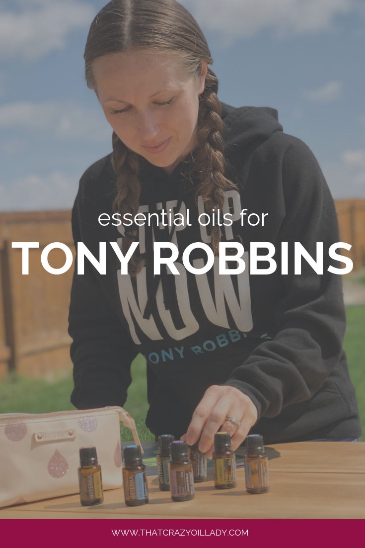 Essential Oils for Tony Robbins