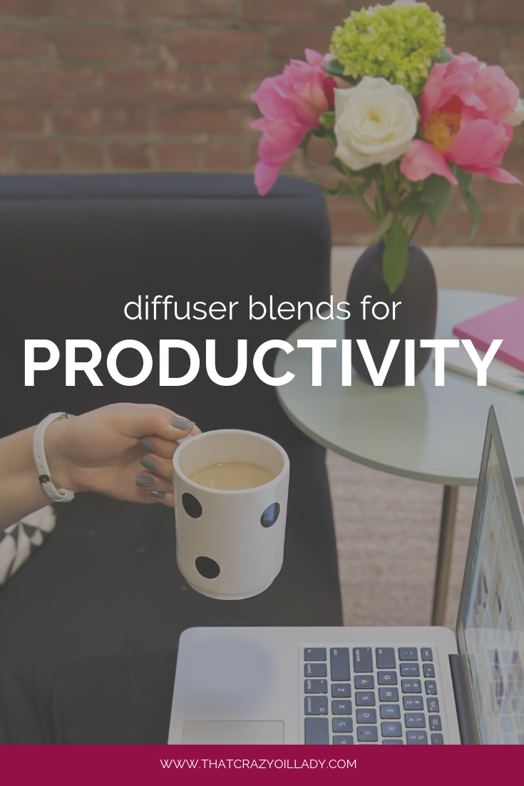 Diffuser Blends for Productivity