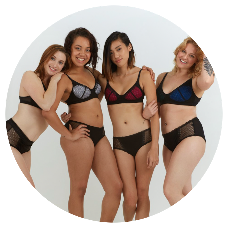 Changewear - Changewear believes in nurturing and supporting our community. Literally the comfiest bra I own! For every bra they sell, they give one to a young woman in need! Create your perfect Changewear bra today & change a life!