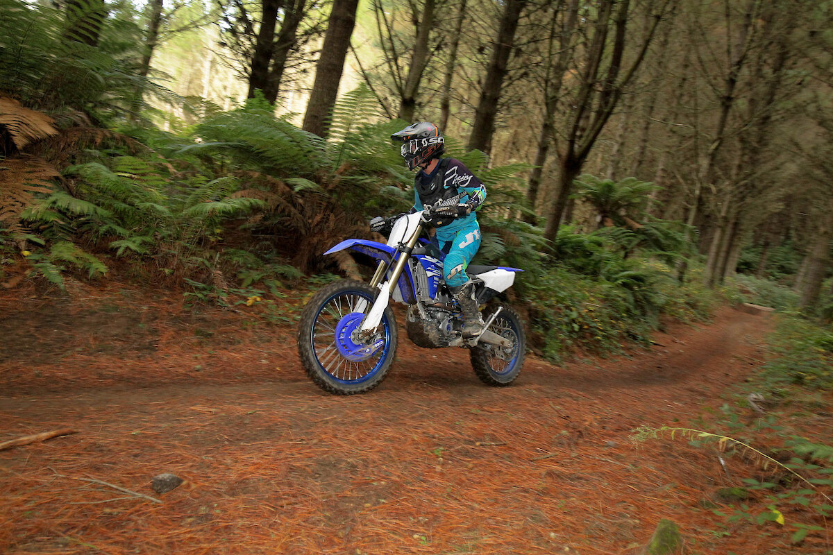 Ripping the trails at Rise of the Queens.