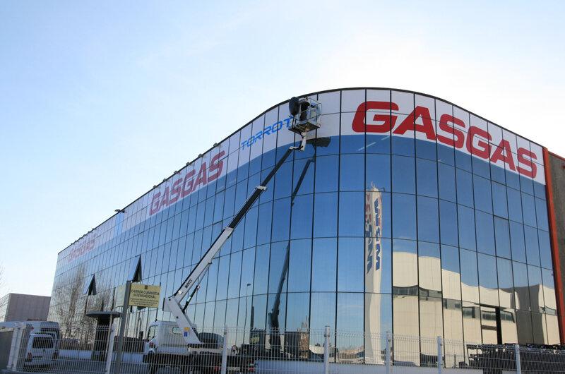 GAS GAS Factory in Girona, Spain.