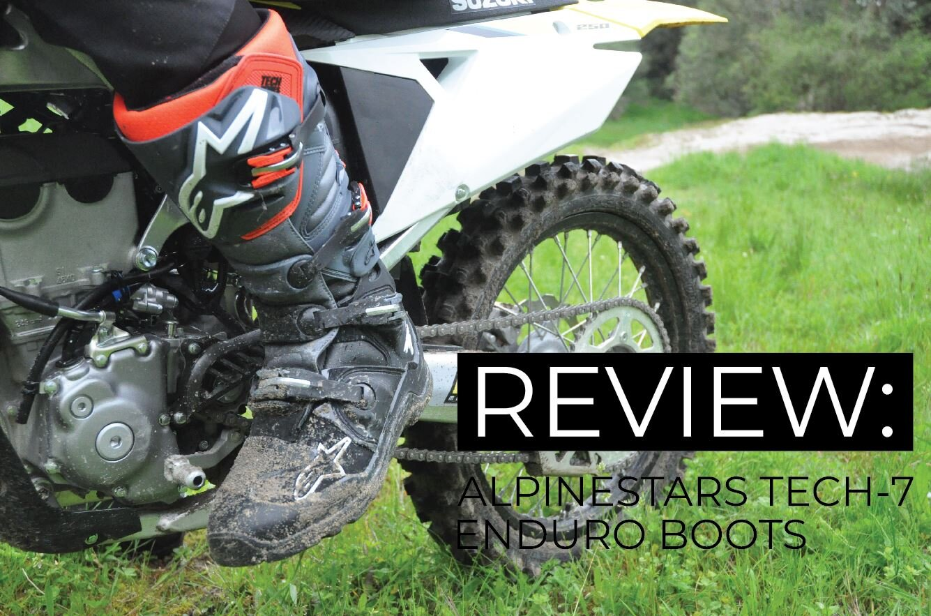 Alpinestars Mens Tech 7 Enduro Drystar Motocross Boot